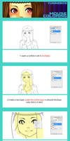mouse coloring tutorial by MarionetteBiri