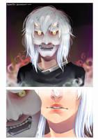 Mask Lady by MarionetteBiri