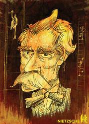 Filozofil: Friedrich Nietzsche by Gra-FIT