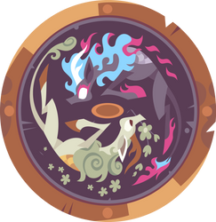 Legend of the Kirin and Nirik Shield Thingy. by PhucknuckL
