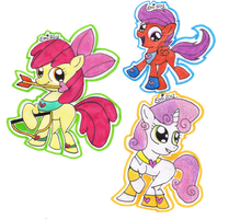 Cutie Mark Cupids by Pinky1babe