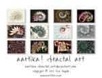 'Fabulous Fractals' 2016 Wall Calendar by aartika-fractal-art