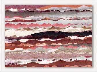 Wiggly Skyscape by aartika-fractal-art