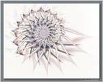 Thistledown by aartika-fractal-art