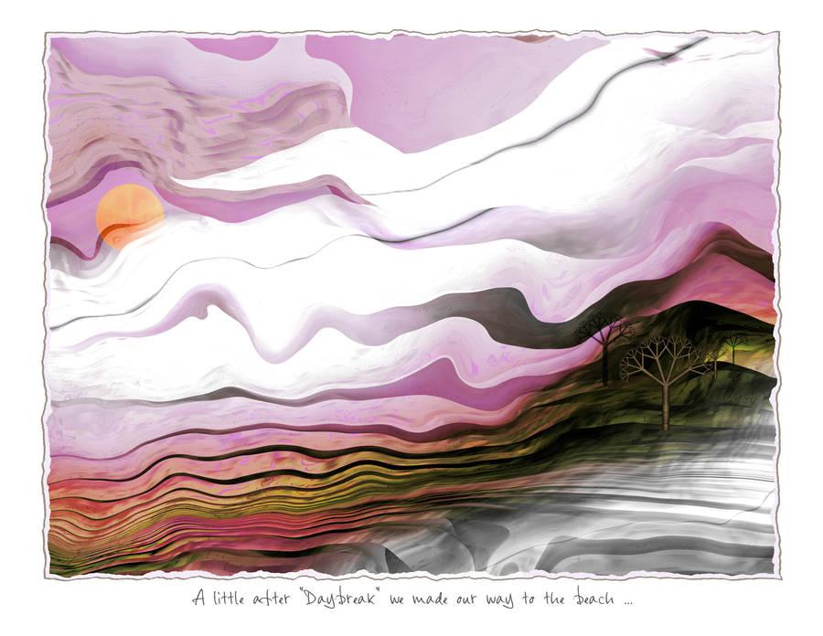 Daybreak by aartika-fractal-art