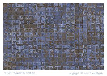 That Damned Dress by aartika-fractal-art