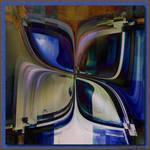 Blue Butterfly by aartika-fractal-art
