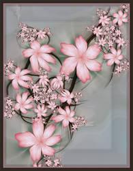 Blossom by aartika-fractal-art