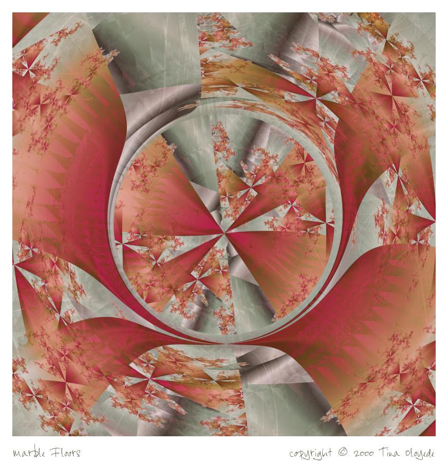 Marble Floors by aartika-fractal-art