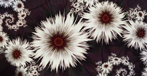 Daisy Chain by aartika-fractal-art