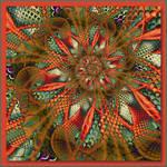 Lizards in the Grass by aartika-fractal-art