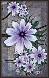 9 Petal Clematis by aartika-fractal-art