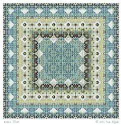Mosaic Floor by aartika-fractal-art