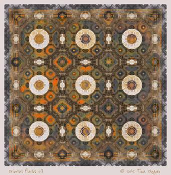 Oriental Plates 07 by aartika-fractal-art