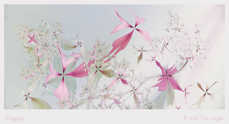 Fragility by aartika-fractal-art