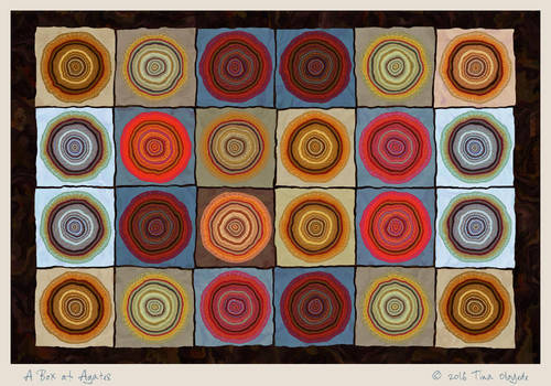 A Box of Agates by aartika-fractal-art