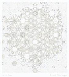 Let It Snow by aartika-fractal-art