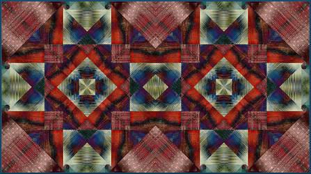 Fractal Tartan by aartika-fractal-art
