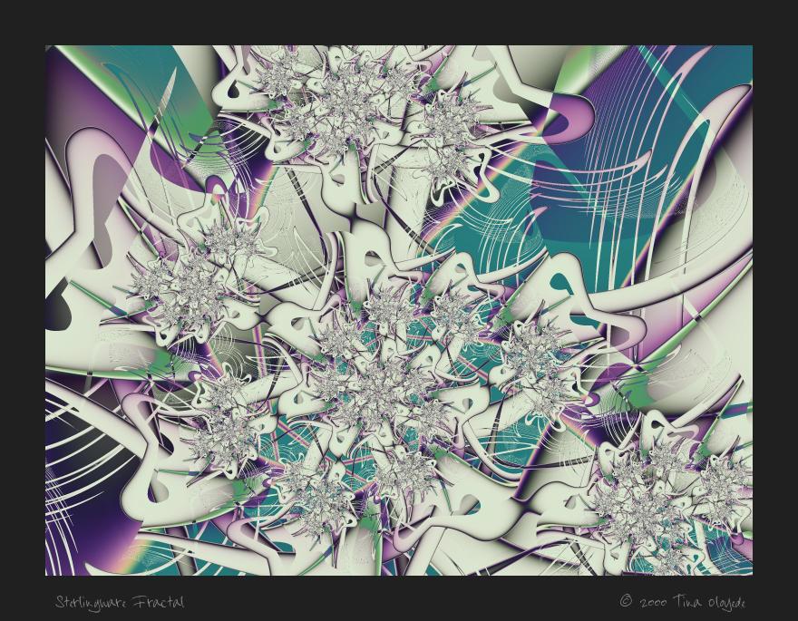Sterlingware Fractal 018 by aartika-fractal-art