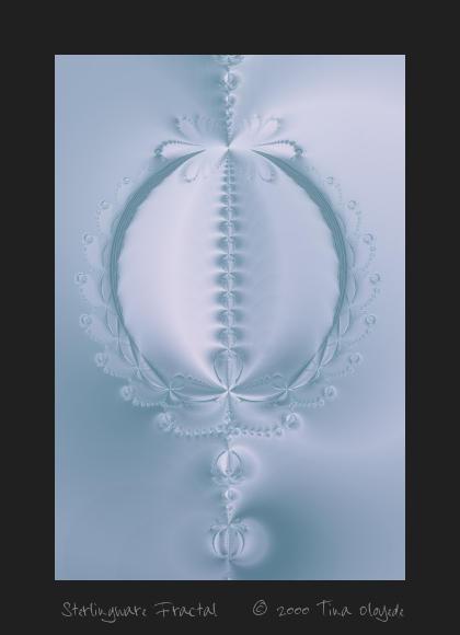 Sterlingware Fractal 58 by aartika-fractal-art