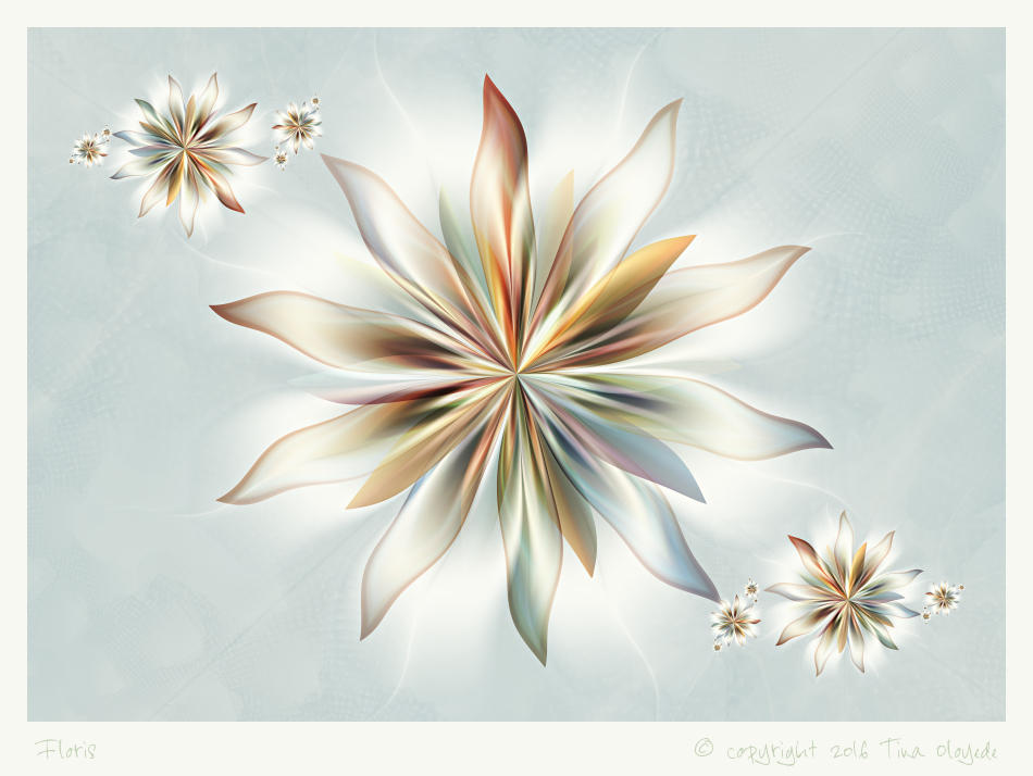 Floris by aartika-fractal-art