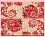 Patchwork Quilt by aartika-fractal-art