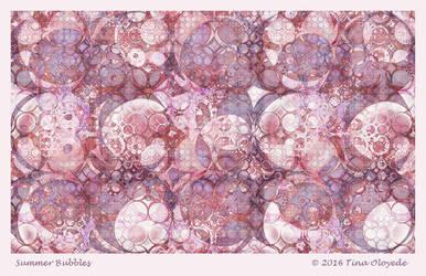Summer Bubbles by aartika-fractal-art