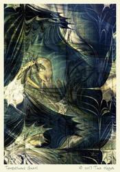 Tempestuous Gnarl by aartika-fractal-art
