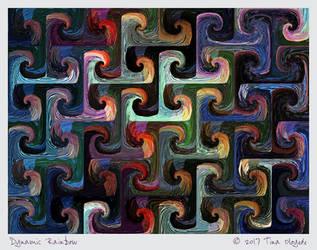 Dynamic Rainbow by aartika-fractal-art