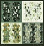 Four Panels by aartika-fractal-art