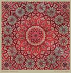 Christmas Kaleidoscope by aartika-fractal-art