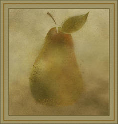 Peace Pear by aartika-fractal-art