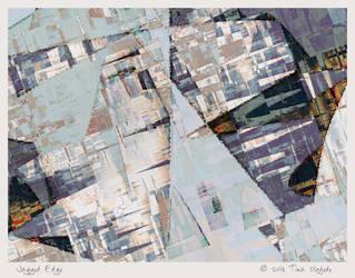Jagged Edge by aartika-fractal-art