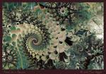 Proud As A Peacock by aartika-fractal-art