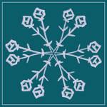 Snowflake Mandala by aartika-fractal-art