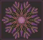 Pink-Chalky Mandala by aartika-fractal-art