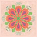 Orange Mandala by aartika-fractal-art