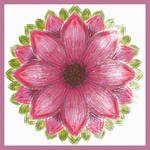 Cerise Flower 01 by aartika-fractal-art