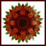 Burnt Flower 02 by aartika-fractal-art