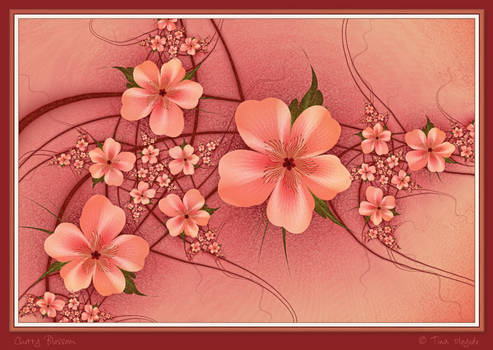 Cherry Blossom by aartika-fractal-art