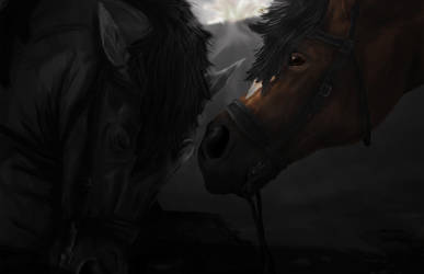 Wake up Topthorn. War Horse by SophieWoollard