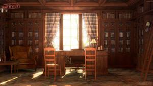 room of the rector by Voloshenko