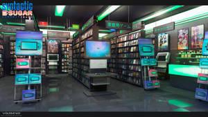 game store by Voloshenko