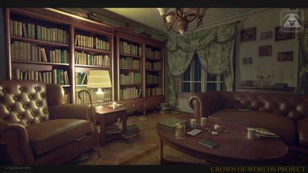 old man's room by Voloshenko