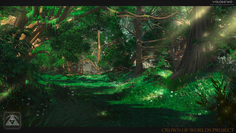 magic forest by Voloshenko