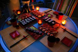 Sushi by breezeofdarkness