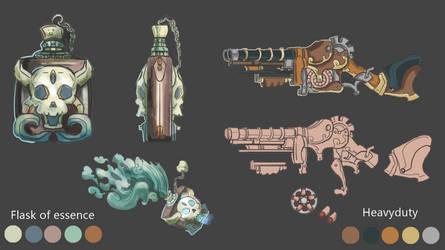 Weapon Concept Art4 by EvanLeComicART