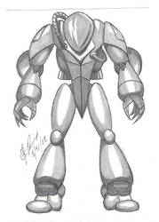 Robotic design by 19darkknight87