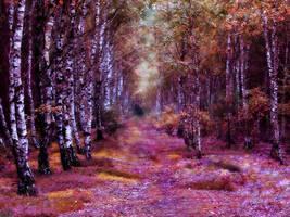 I wrzosami obsypal sie las by Lottia1