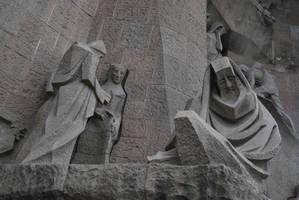 Sagrada Familia - exterior detail by ReneHaan